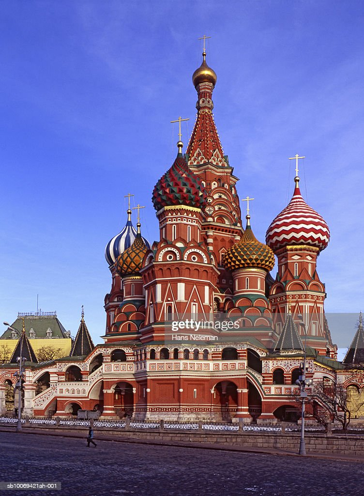 Russia, Moscow, Saint Basil's Cathedral : Stock Photo