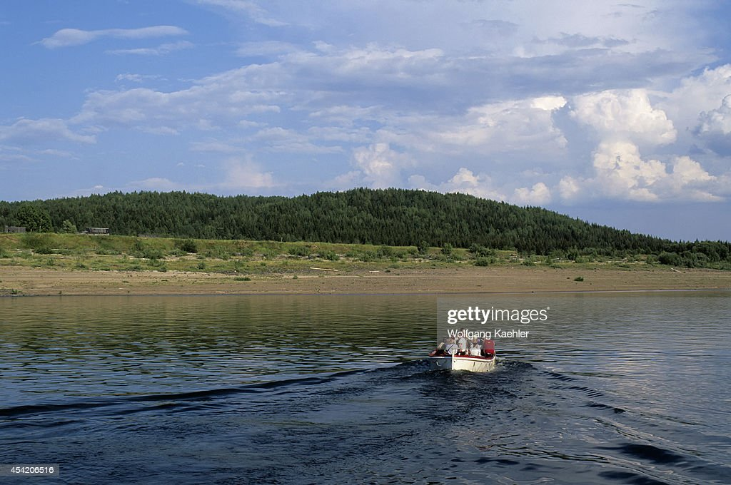 Russia, Siberia, Yenisey River, Lebed, Nature Preserve, Ms...