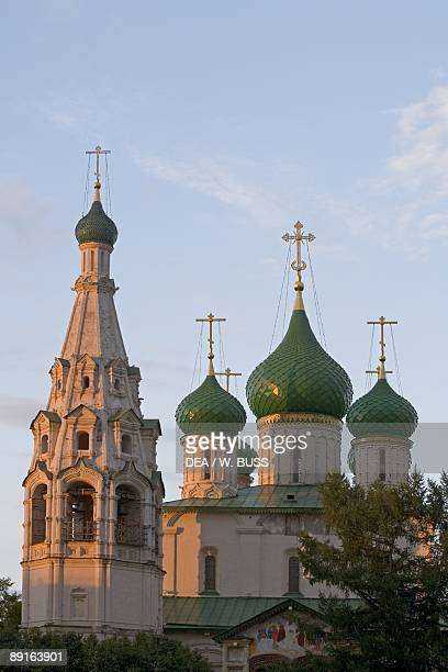 Russia Yaroslavl Historical Centre of City of Yaroslavl Church of Elijah Prophet