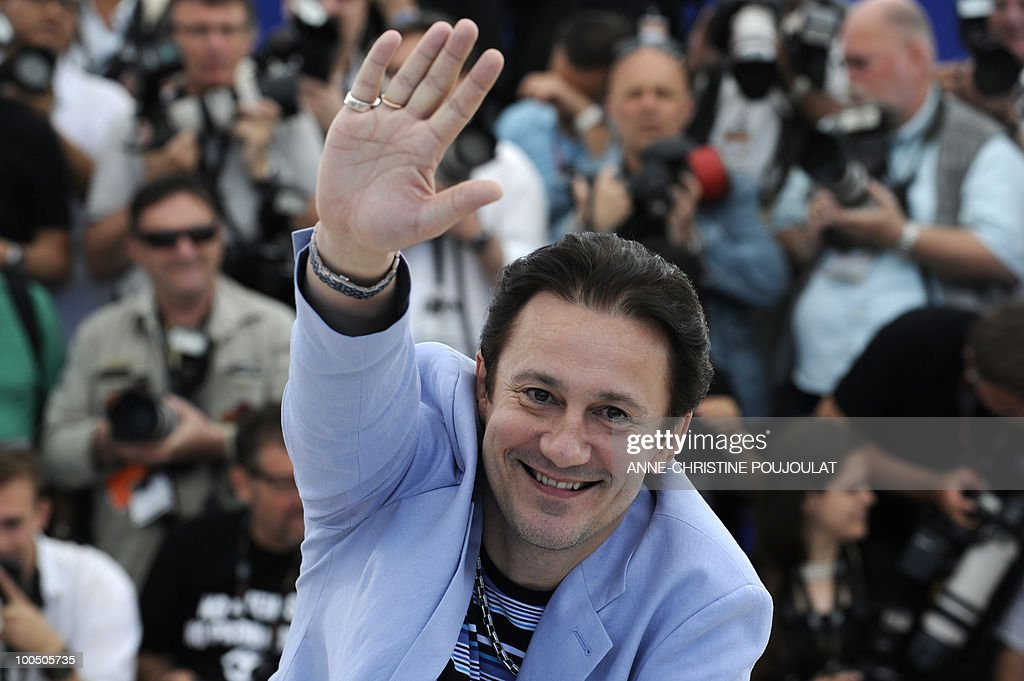 Russian actor Oleg Menshikov poses during the photocall of 'Utomlyonnye Solntsem 2: Predstoyanie' (The Exodus - Burnt By The Sun 2) presented in competition at the 63rd Cannes Film Festival on May 22, 2010 in Cannes.