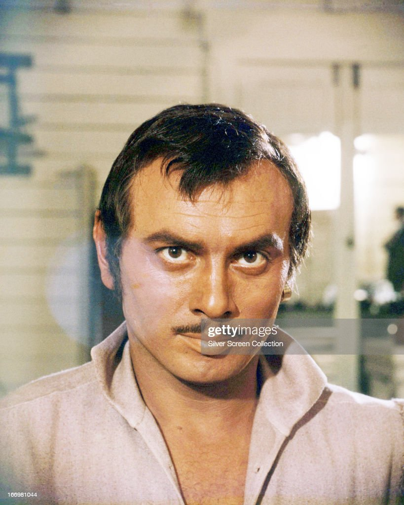 Russian actor <a gi-track='captionPersonalityLinkClicked' href=/galleries/search?phrase=Yul+Brynner&family=editorial&specificpeople=204712 ng-click='$event.stopPropagation()'>Yul Brynner</a> (1920 - 1985), as the pirate Jean Lafitte, in a promotional portrait for 'The Buccaneer', directed by Anthony Quinn, 1958. This was Quinn's only film as director.