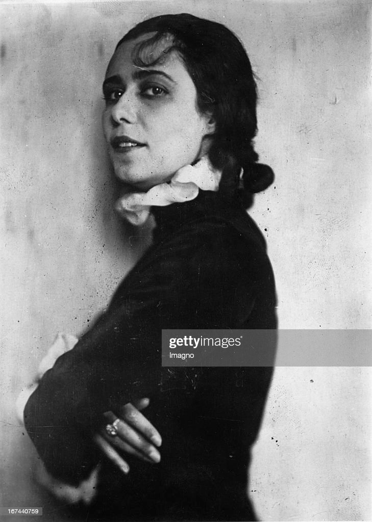 Russian actress Maria Orska. About 1928. Photograph. (Photo by Imagno/Getty Images) Die russische Schauspielerin Maria Orska. Um 1928. Photographie.