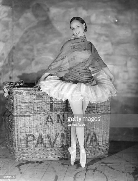 Russian Ballet dancer Anna Pavlova regarded as the prima ballerina of her era