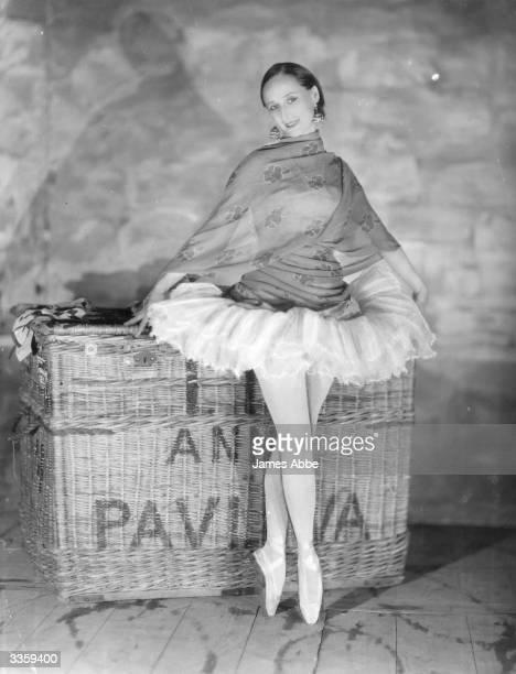 Russian Ballet dancer Anna Pavlova regarded as the prima ballerina of her era