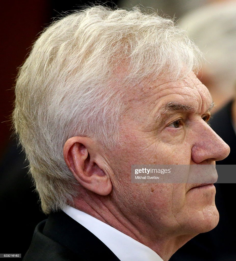 Russian billionaire and businessman <a gi-track='captionPersonalityLinkClicked' href=/galleries/search?phrase=Gennady+Timchenko&family=editorial&specificpeople=10841361 ng-click='$event.stopPropagation()'>Gennady Timchenko</a> attends the Presidential Council of Sport on April 22, 2016 in Kazan, Russia. Vladimir Putin is having a one-day trip to Kazan to hold the Presidential Council of Sport and to open the European Judo Championship.