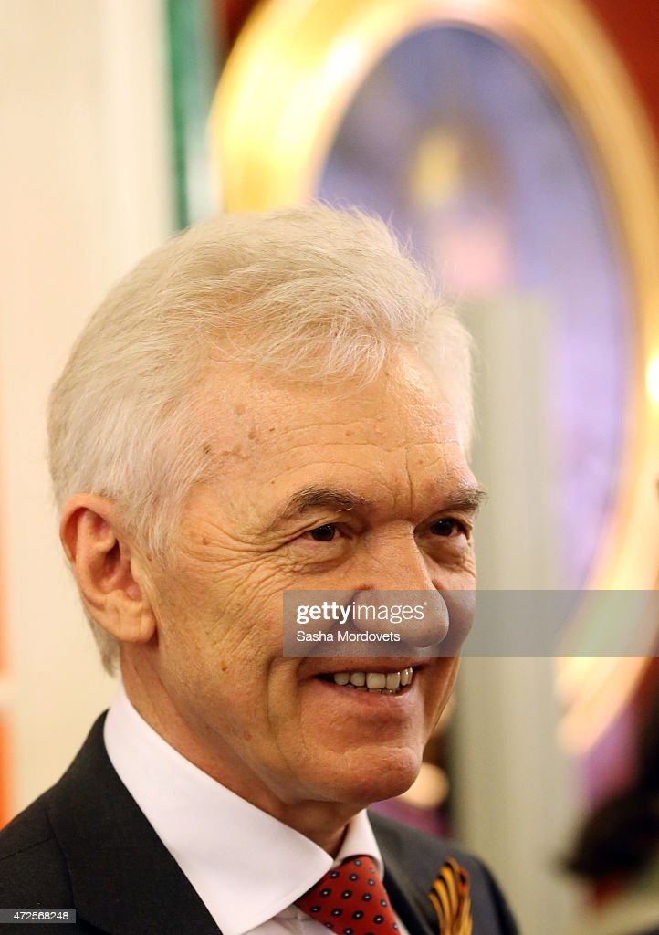 Russian billionaire and businessman <a gi-track='captionPersonalityLinkClicked' href=/galleries/search?phrase=Gennady+Timchenko&family=editorial&specificpeople=10841361 ng-click='$event.stopPropagation()'>Gennady Timchenko</a> is seen during Russian-Chinese meeting in the Grand Kremlin Palace on May 8, 2015 in Moscow, Russia. Xi Jinping is on a two-day visit to Moscow and plans to attend the Victory Day military parade which will take place at Moscow's Red Square on May 9 to celebrate 70 years after the victory in WWII.