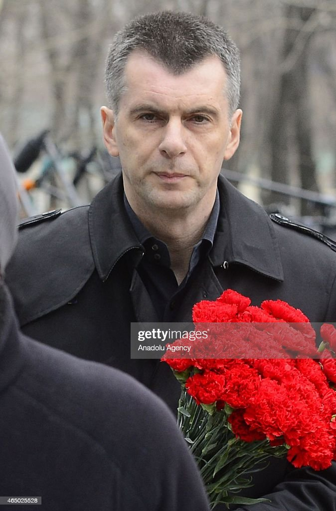 Mourners Attend Funeral Of Murdered Politician Boris Nemtsov