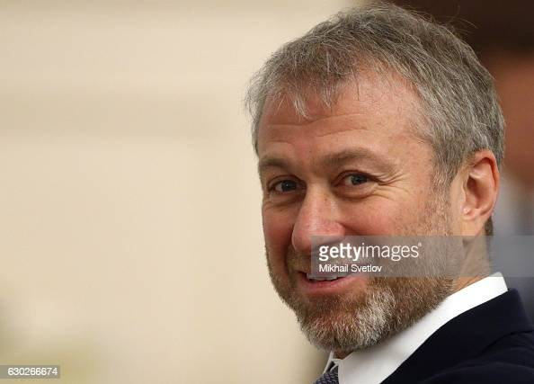 Russian billionaire and businessman Roman Abramovich attends meeting with representatives of business community and business associations at the...