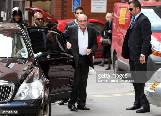 Russian businessman Boris Berezovsky arrives at London's High Court where he is suing Chelsea football club owner Roman Abramovich