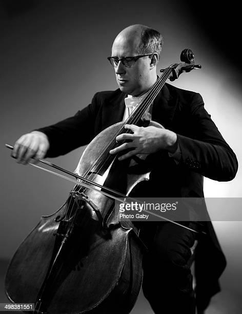 Russian cellist and conductor Mstislav Rostropovich 1963