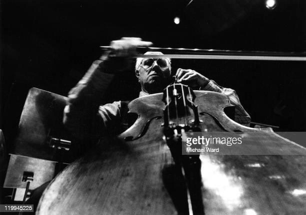 Russian cellist Mstislav Rostropovich 1950