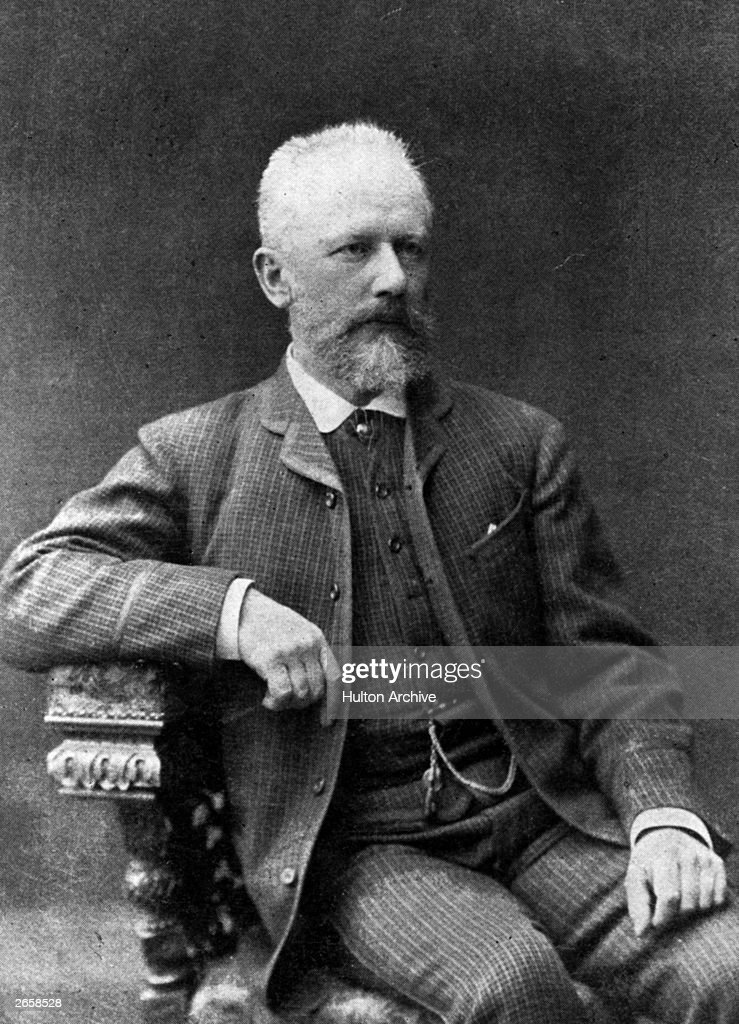 Russian composer Peter Tchaikovsky (1840 - 1893). His works include six symphonies and three piano concertos, only two of which are finished, a violin concerto and eleven operas.