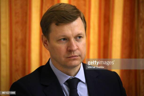 Russian Deputy Finance Minister Andrey Ivanov attends a meeting on agricultural development in Voronezh Russia October 2017 Vladimir Putin is having...
