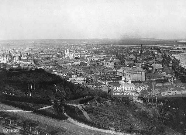 Russian Empire Ukraine Kijew / Kiev View over the city 1918 Photographer Walter Gircke Vintage property of ullstein bild