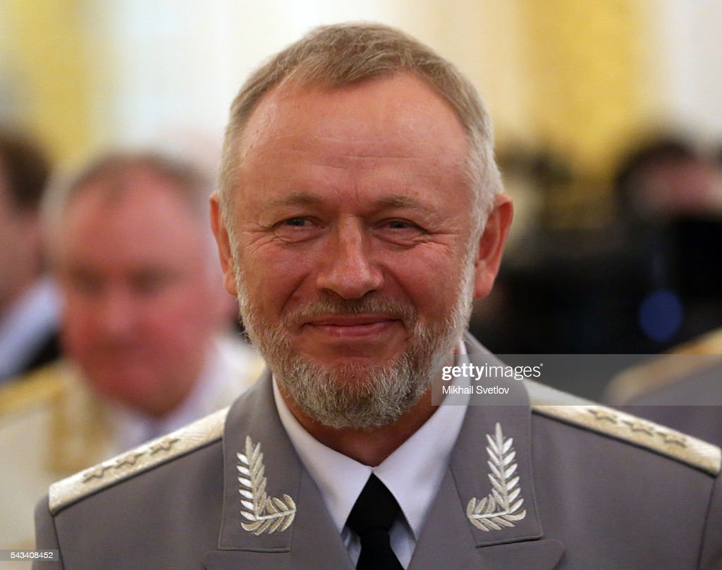 Russian Federal Service for Military-Technical Cooperation (FSVTS) Chief Alexander Fomin attends the reception for graduates of military academies and universtities at the Grand Kremlin Palace on June 28, 2016 in Moscow, Russia.