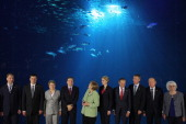 Russian First Deputy Prime Minister Igor Shuvalov Latvian Prime Minister Valdis Dombrovskis Baltic Sea Parliamentary Conference Chairwoman Valentina...