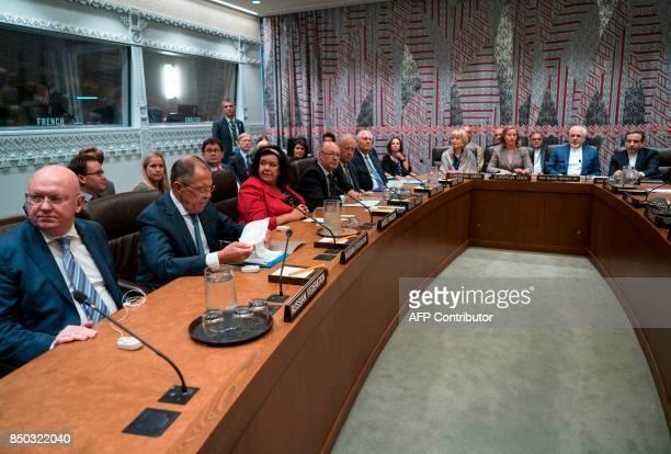 Russian Foreign Minister Sergey Lavrov British ambassador Karen Pierce British politician Alistair Burt US Secretary of State Rex Tillerson European...