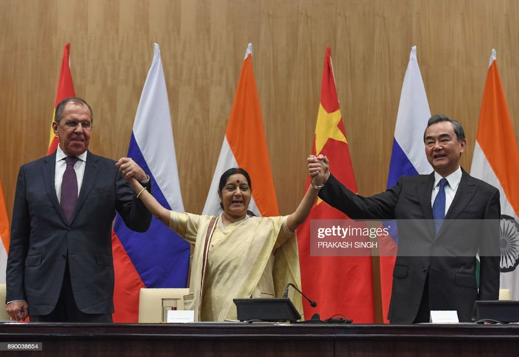 India, China, Russia trilateral meeting in New Delhi