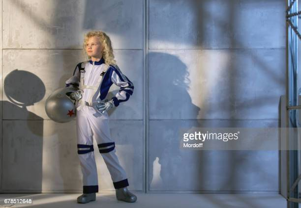 Russian Girl Astronaut