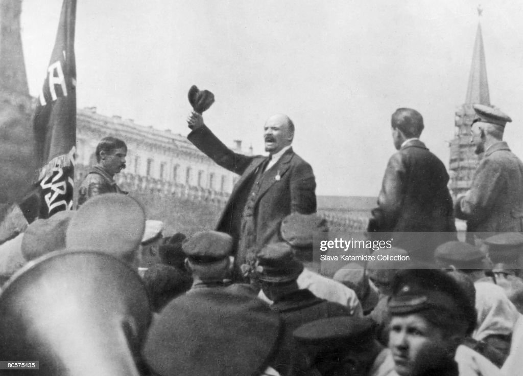 The life and leadership of vladimir lenin