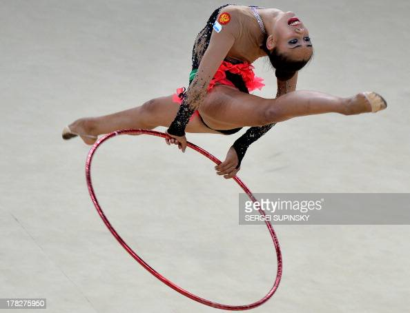 Final of 32nd rhythmic gymnastics world championship in kiev on