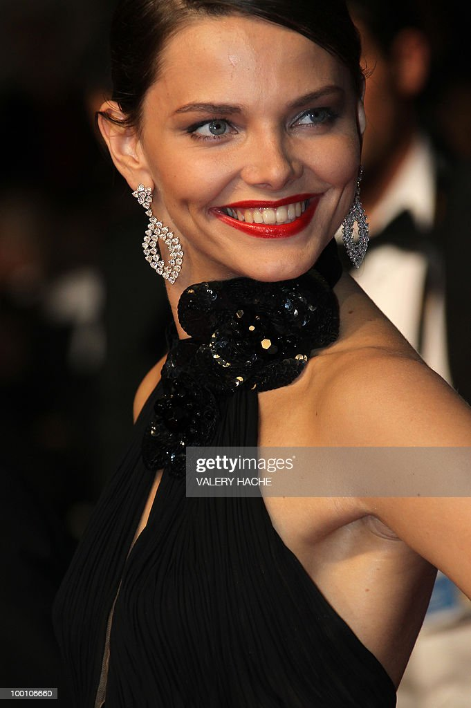 Russian model Elizaveta Boyarskaya arrives for the screening of 'La Nostra Vita' (Our Life) presented in competition at the 63rd Cannes Film Festival on May 20, 2010 in Cannes.