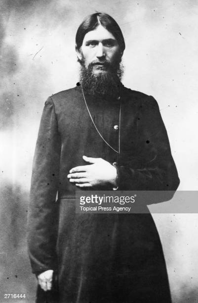 Russian mystic and selfstyled holy man Grigory Yefimovich Rasputin
