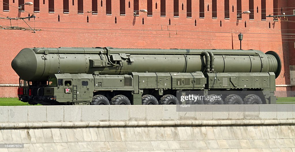 Russian nuclear missile Topol-M