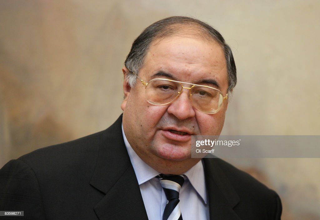 Alisher Usmanov Visits The Turner Bequest : News Photo
