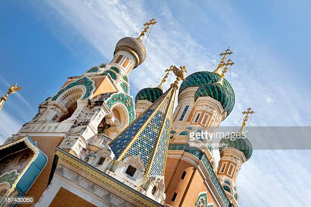 Russian Orthodox Church in Nice France