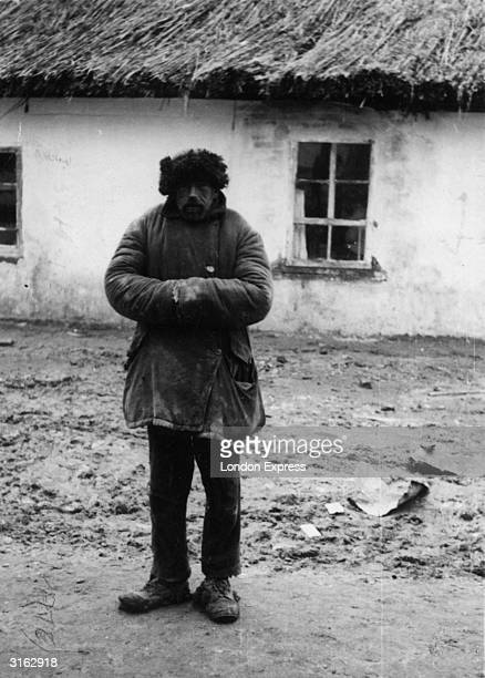 Russian peasant near Kiev during the famine He has spent two of the last five years in prison