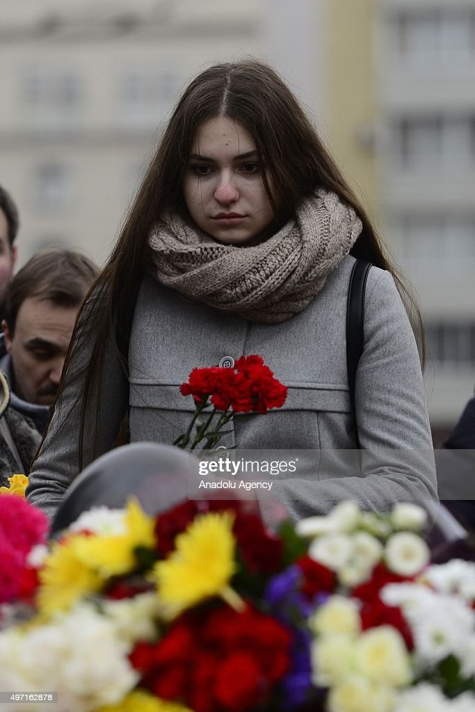 French People Students Lycee Charlemagne Stock Photos: Paris Explosions