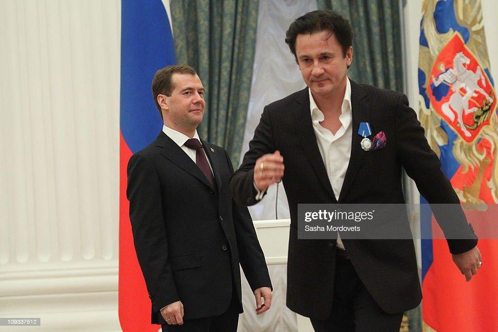 President Medvedev Holds Awarding Ceremony At Kremlin