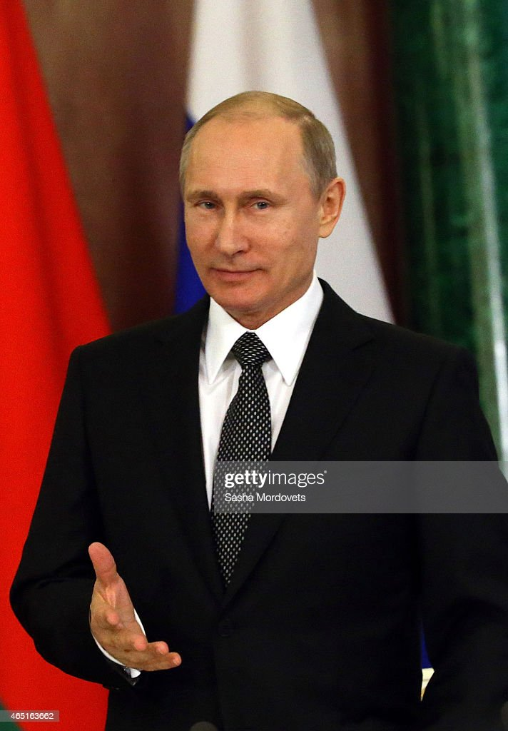 Vladimir Putin Meets With Belarussian President In Moscow