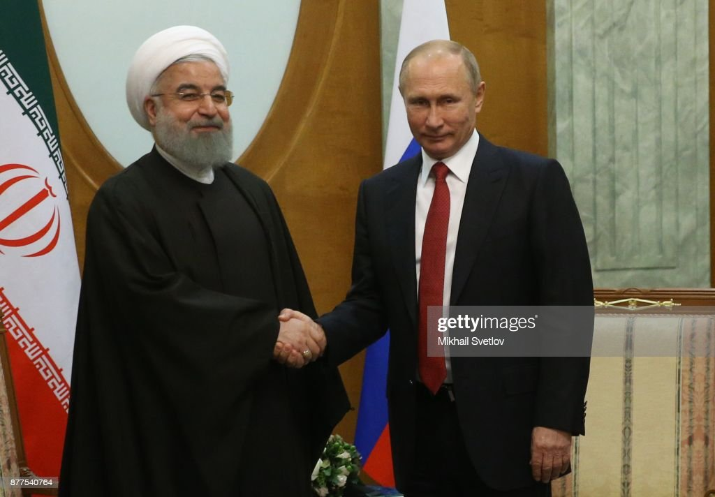 Russian, Turkish And Iranian Presidents Gather In Sochi To Discuss Syrian Conflict