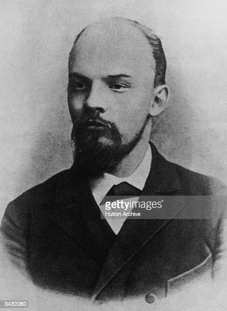 Russian revolutionary and Marxist politician Vladimir Ilyich Lenin