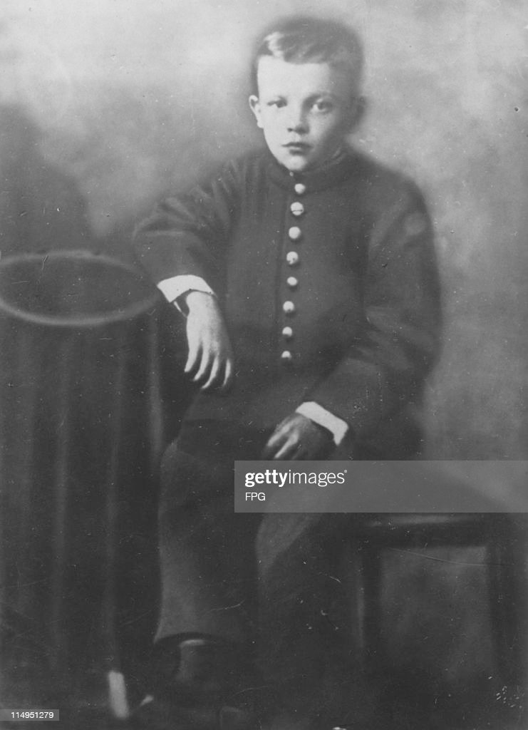 Russian revolutionary leader Vladimir Lenin (1870 - 1924) as a boy, circa 1887.