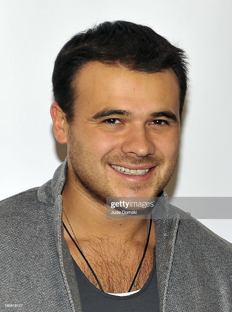 Russian singer Emin Agalarov attends The Friars Club Presents: Do You Think You Can Roast?! Padma Lakshmi at New York Friars Club on February 1, 2013 in New York City.
