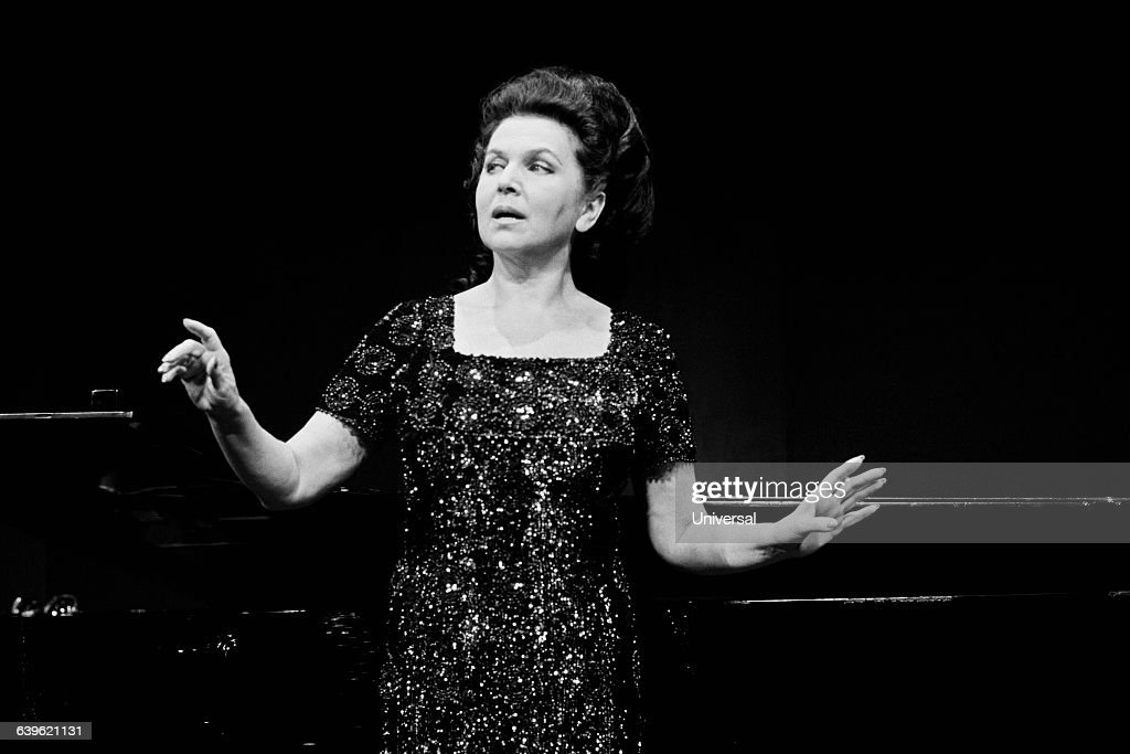 Russian soprano opera singer and recitalist <a gi-track='captionPersonalityLinkClicked' href=/galleries/search?phrase=Galina+Vishnevskaya&family=editorial&specificpeople=911029 ng-click='$event.stopPropagation()'>Galina Vishnevskaya</a>.