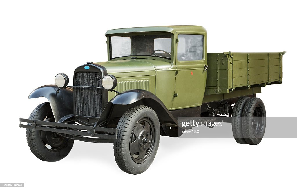 Russian Soviet car  during the second world war GAZ-AA : Stock Photo