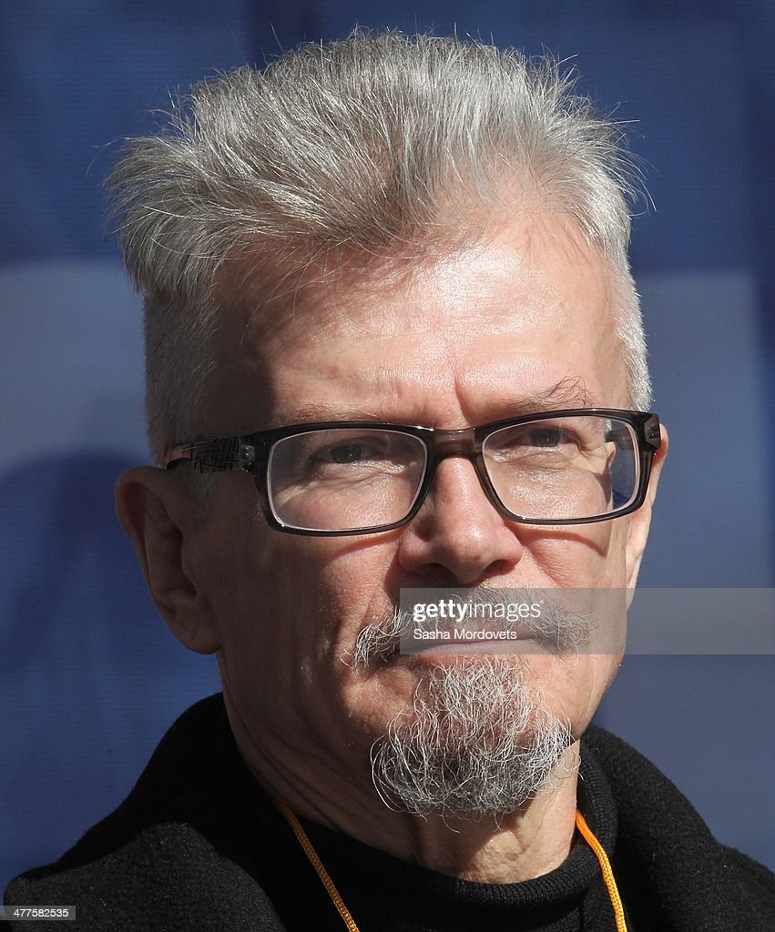 Russian writer and opposition leader <a gi-track='captionPersonalityLinkClicked' href=/galleries/search?phrase=Eduard+Limonov&family=editorial&specificpeople=756882 ng-click='$event.stopPropagation()'>Eduard Limonov</a> takes part in a rally of pro-Kremlin, nationalists and veteran movements in support of Vladimir Putin's policy in Crimea and Ukraine, at Pushkinskaya square on March 10, 2014 in Moscow, Russia. Hundreds of activists gathered to support an intervention of the Russian army in Ukraine.