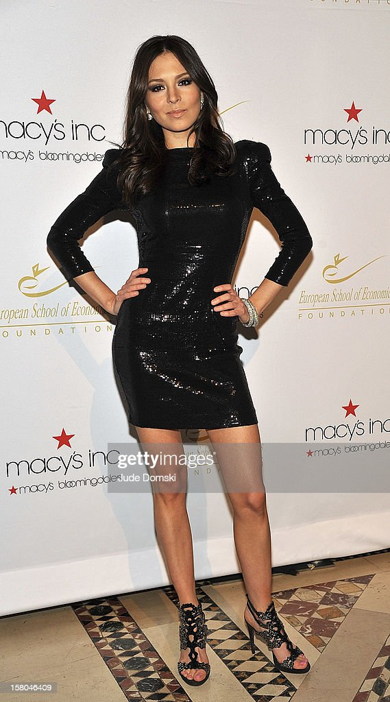 Russian-American pianist Lola Astanova attends the 2012 European School Of Economics Foundation Vision And Reality Awards at Cipriani 42nd Street on December 5, 2012 in New York City.