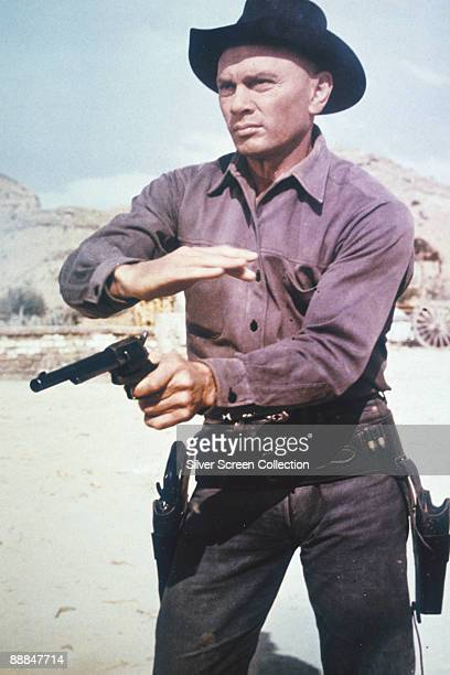 Russianborn actor Yul Brynner as Chris Adams in 'The Magnificent Seven' 1960