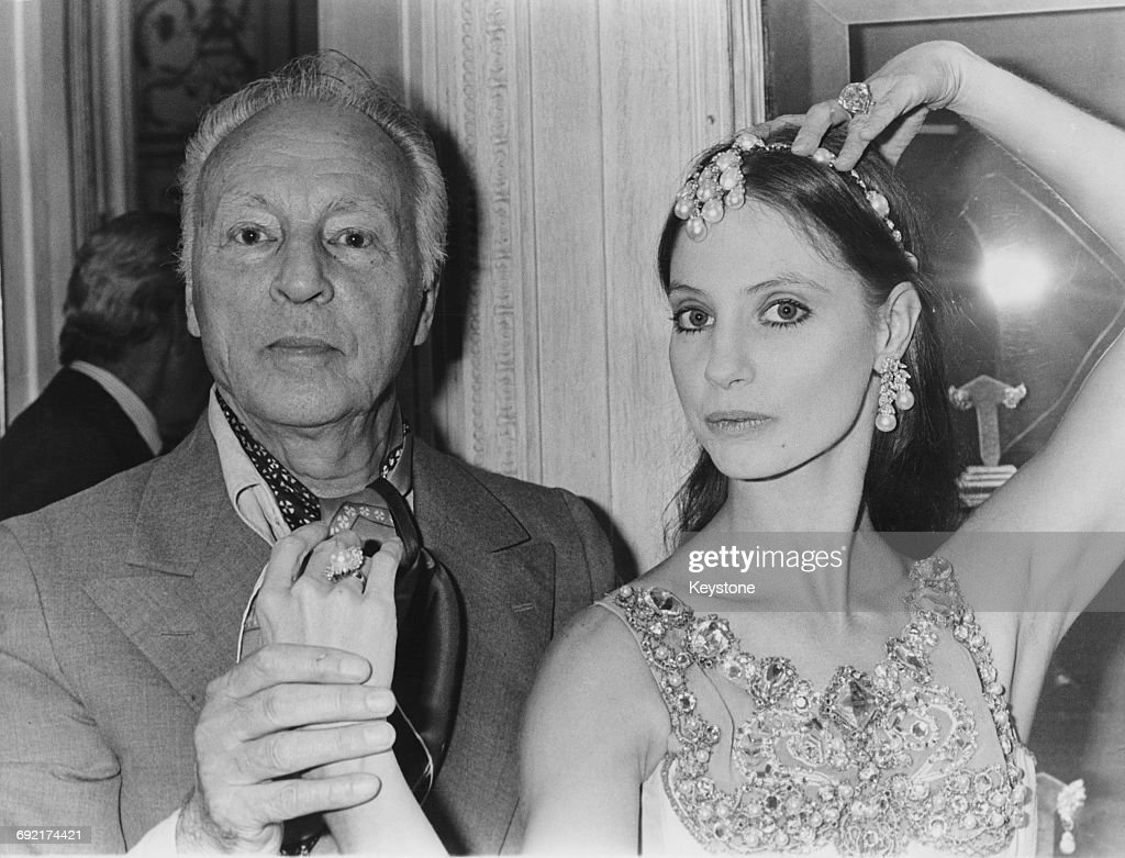 Russian-born American choreographer George Balanchine (1904 - 1983) with American dancer Suzanne Farrell, who appeared in many of his productions, Paris, France, 24th September 1976.