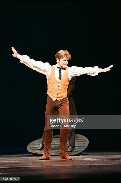 Russianborn American dancer Mikhail Baryshnikov performs in 'Appalachian Spring' at City Center New York New York October 6 1987