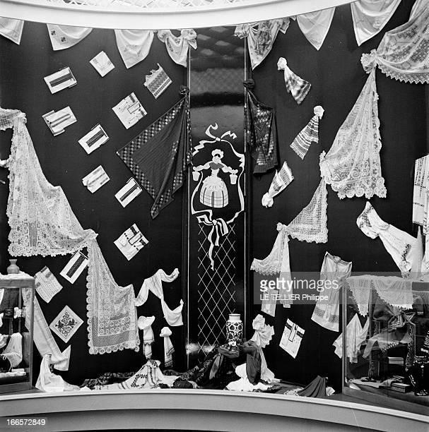 Russians At The Fair Of Lyon Lyon avril 1956 la foire de Lyon ourve ses portes à l'URSS l'industrie automobile l'art de vivre la construction les...