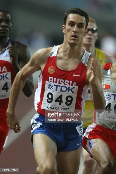 Russia's Dmitriy Bogdanov during the 800 Metres