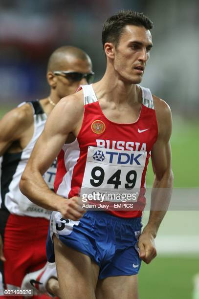 Russia's Dmitriy Bogdanov in action during the 800 Metres semifinal