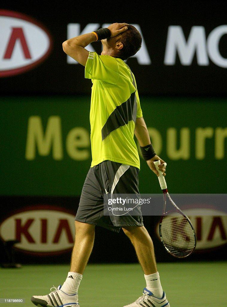 2007 Australian Open - Men's Singles - Third Round - Andy Roddick vs Marat Safin