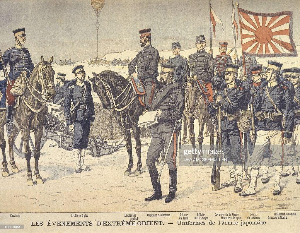 Russo-Japanese War (1904-1905) - Japanese army uniform.